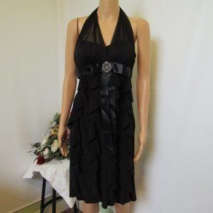 Betsy And Adam Women's Formal Dress Black Size 4